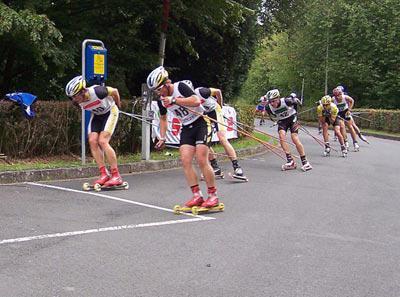 Rollski Rennen Breitenbach 2007