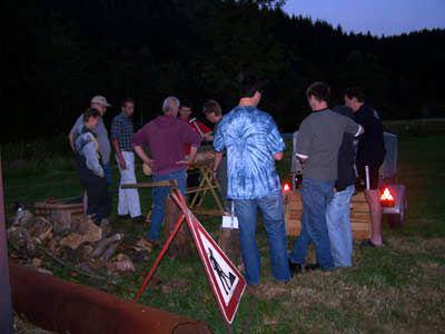 Zelten 2006